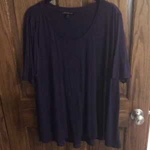 Lane Bryant purple tee size 18/20